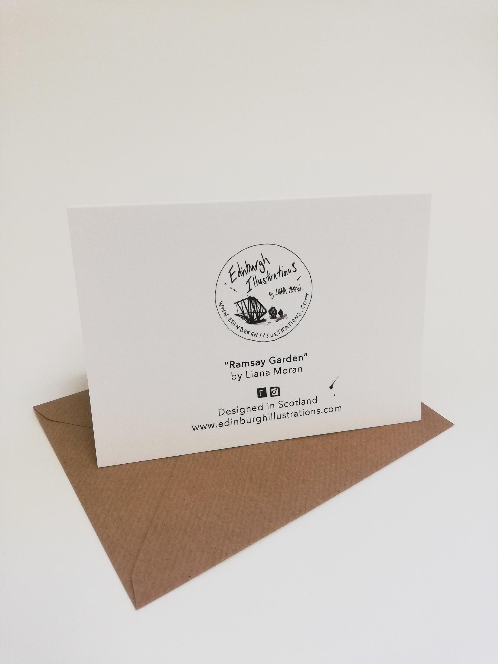 Ramsay Garden card