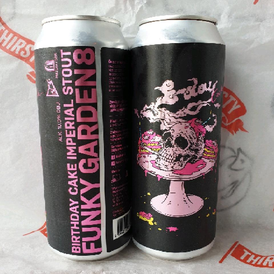 Maltgarden  x Funky Fluid | Funky Garden Vol.8 | Pastry Imperial Stout 10% 500ml