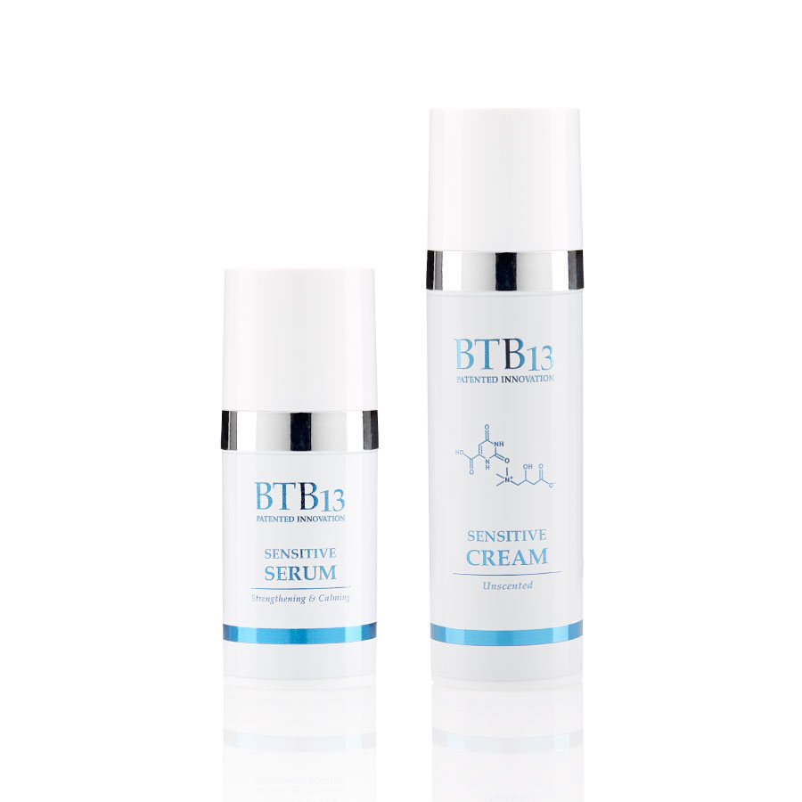 BTB13 Sensitive Starter Set (Serum 15ml & Cream 30ml)