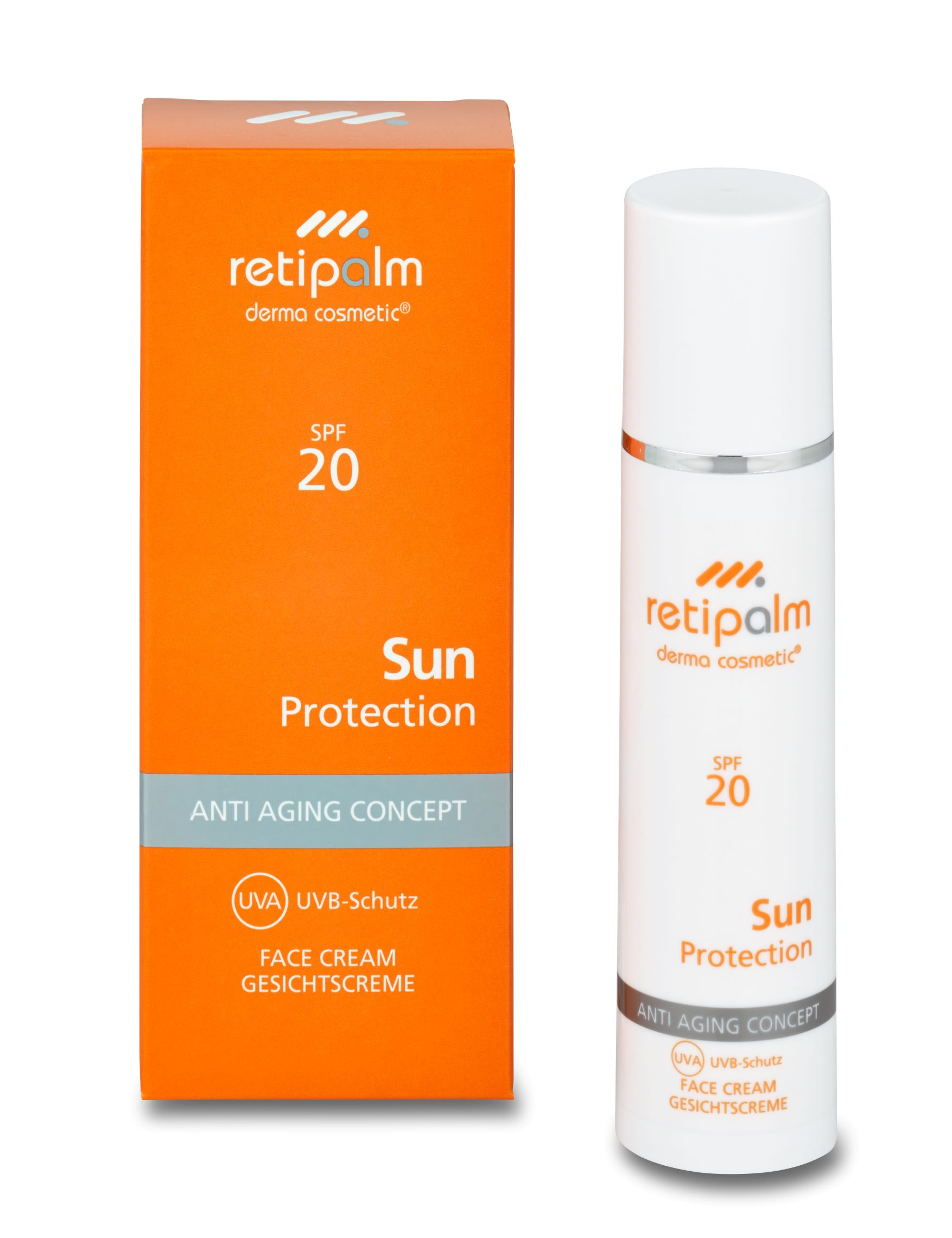 Sun Protection Face Cream SPF20 50ml