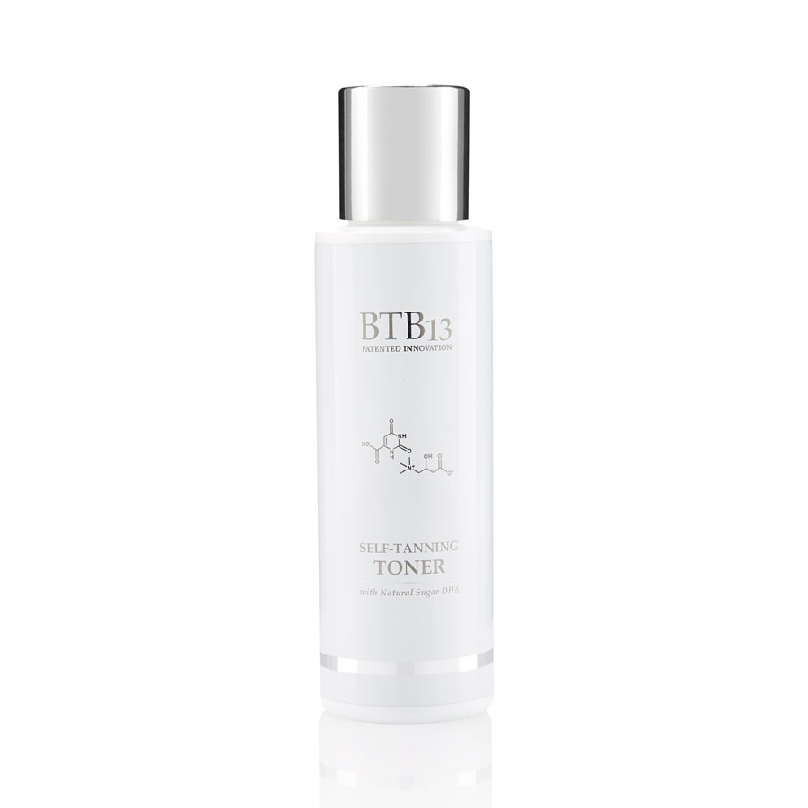 BTB13 Self Tanning Toner Itseruskettava Hoitoneste 100ml