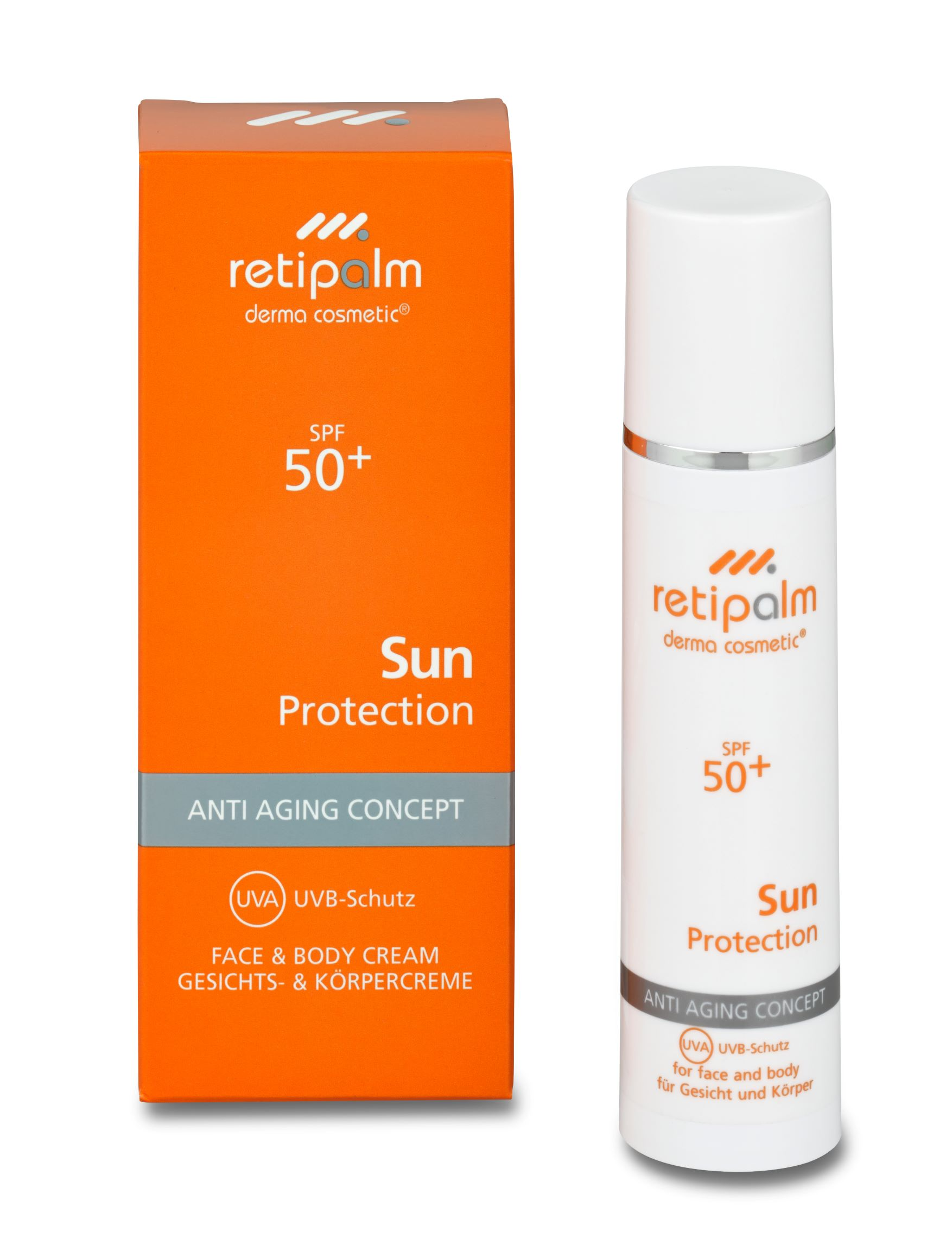 Sun Protection Face & Body SPF50+ 50ml