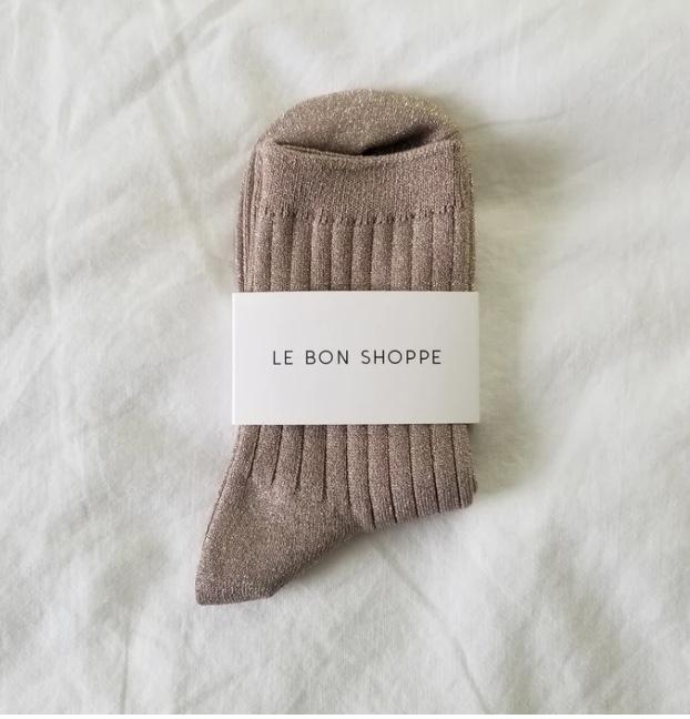 Le Bon Shoppe / Her Socks (Glittery Jute)