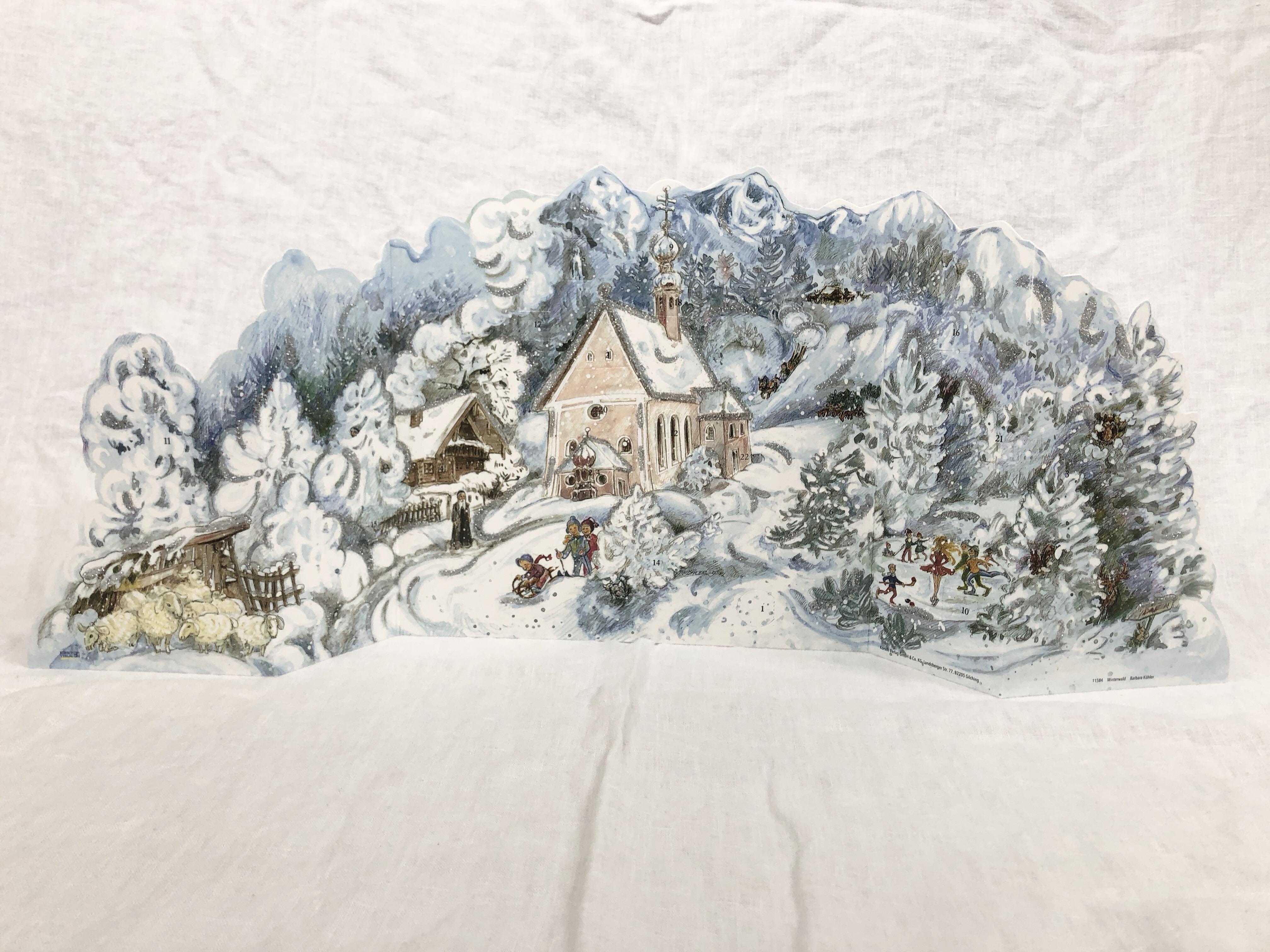 Julekalender Vinterskoven