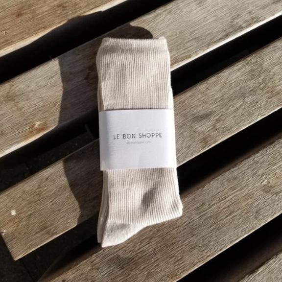 Le Bon Shoppe / Trouser Socks (Eggnog)