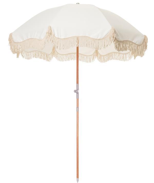 Premium Beach Umbrella Antique White