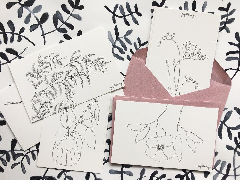 Papillonnage / 8 Petites Cartes