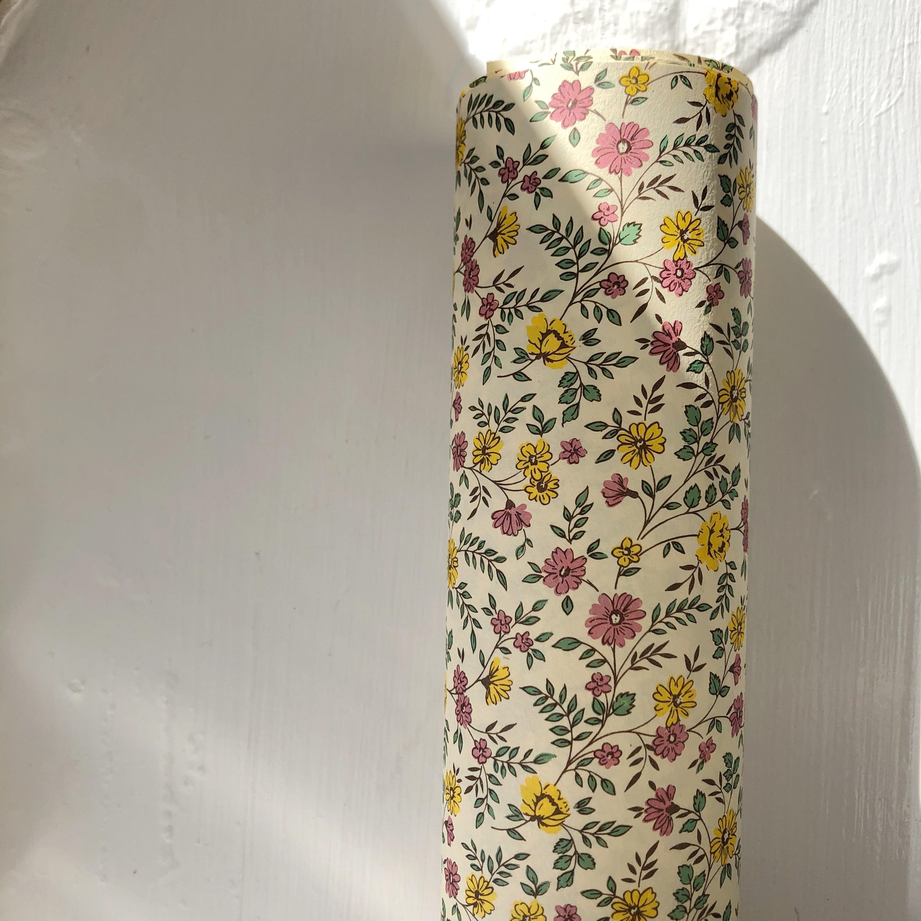 Italiensk Papir / Pink & Yellow