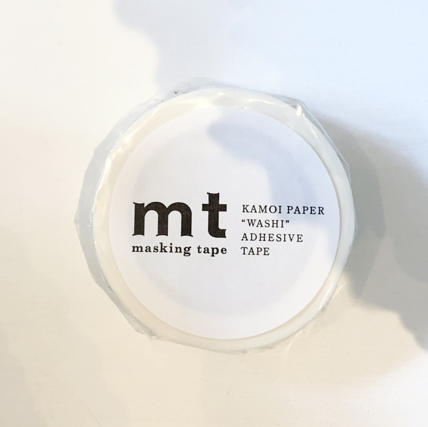 mt Masking Tape / Matte White