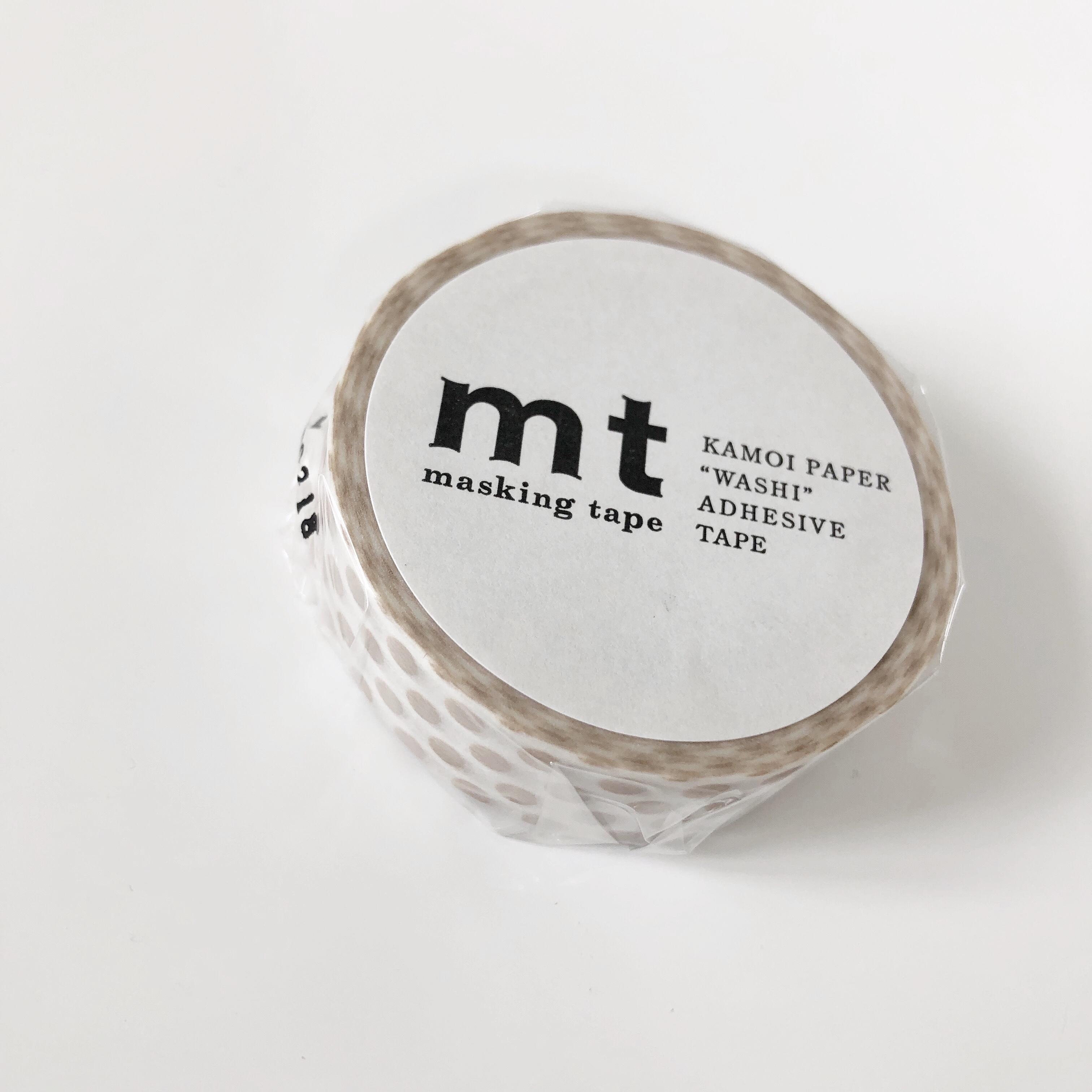 mt Masking Tape / Dot Milk Tea