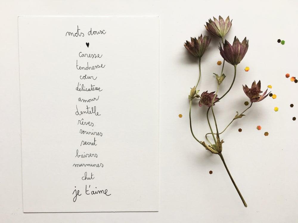 Papillonnage / Mots doux Kort