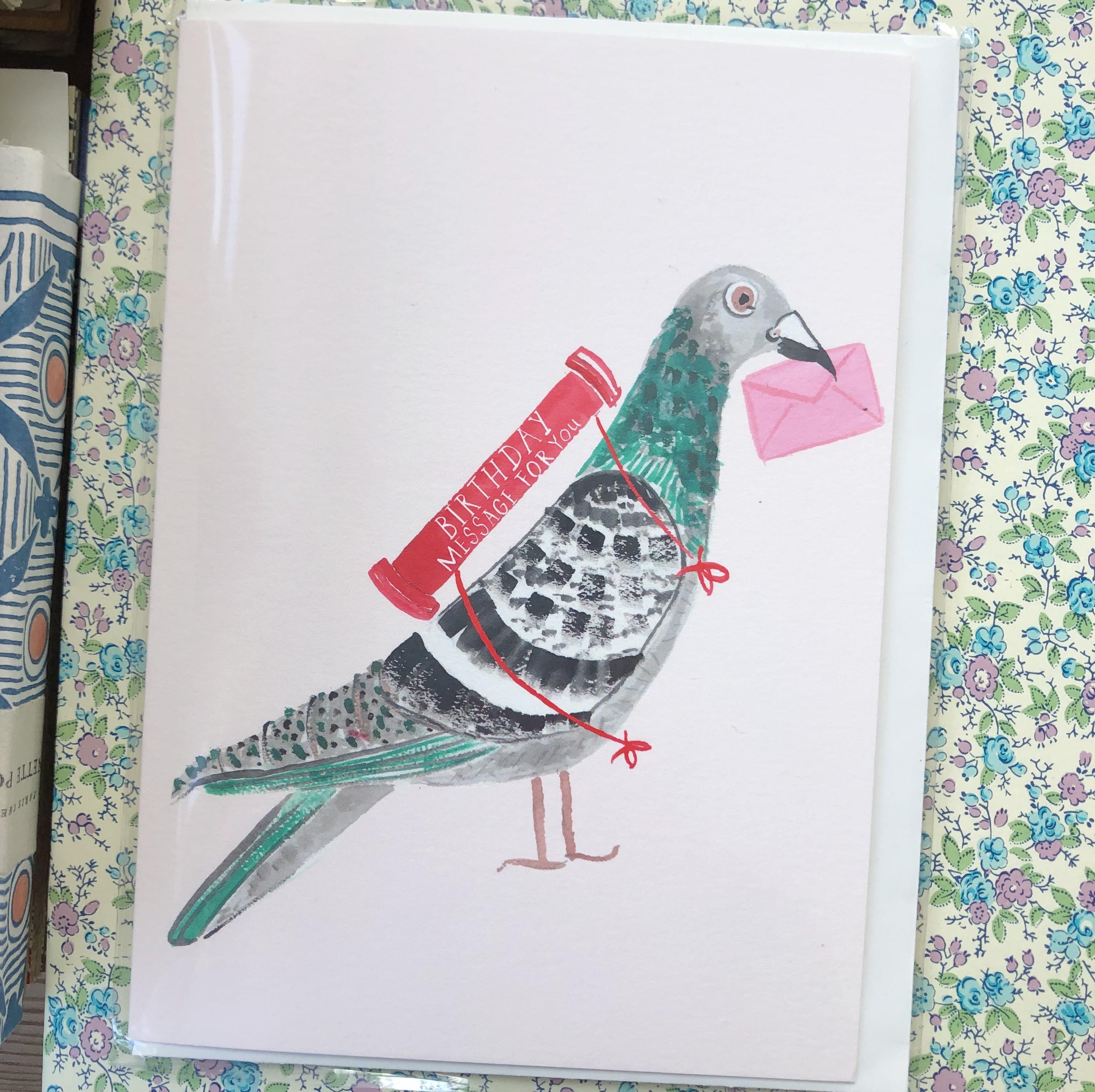 Birthday Pigeon
