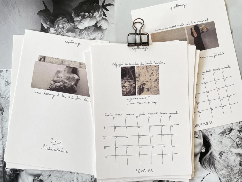 Papillonnage / 2022 kalender