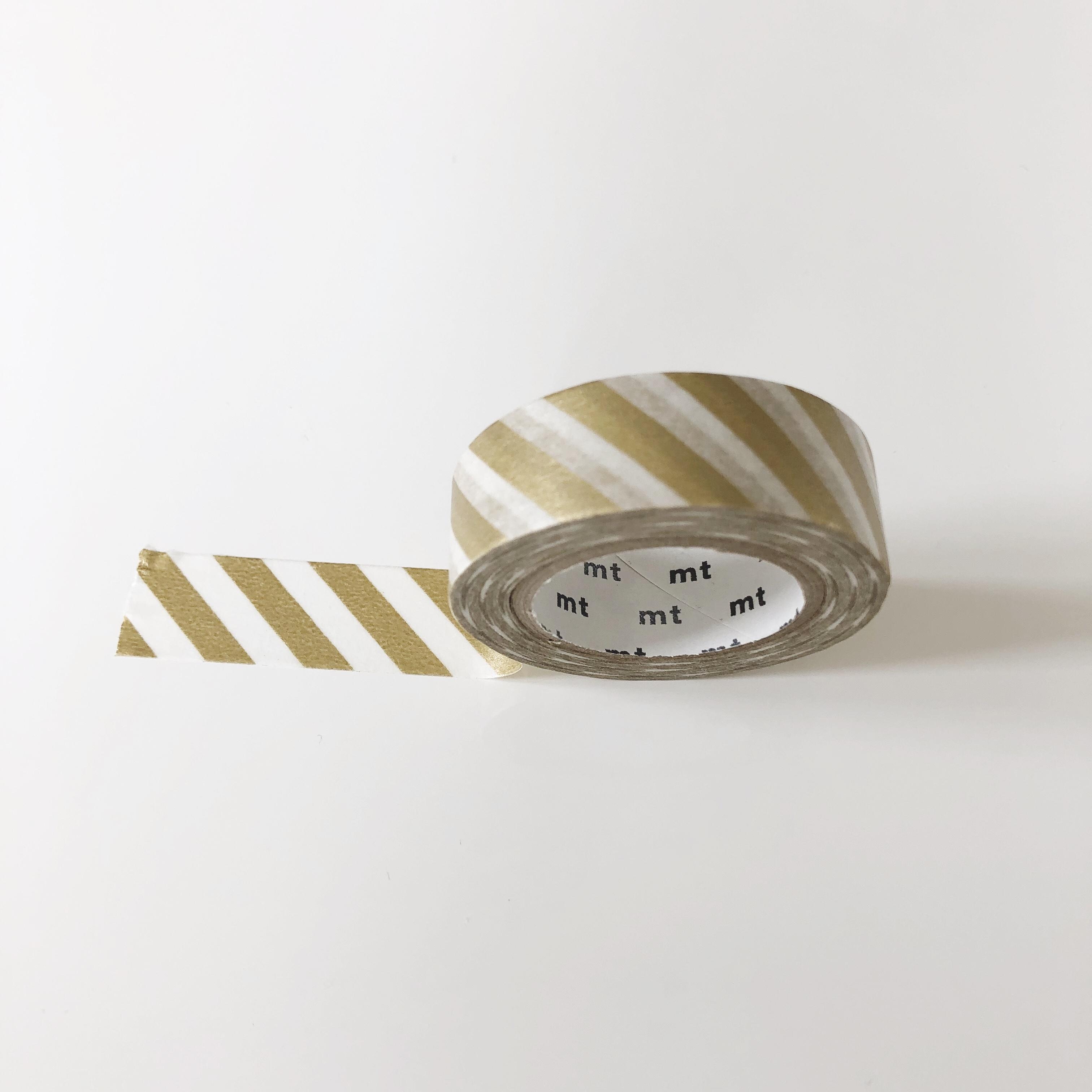 mt Masking Tape / Stripe Gold