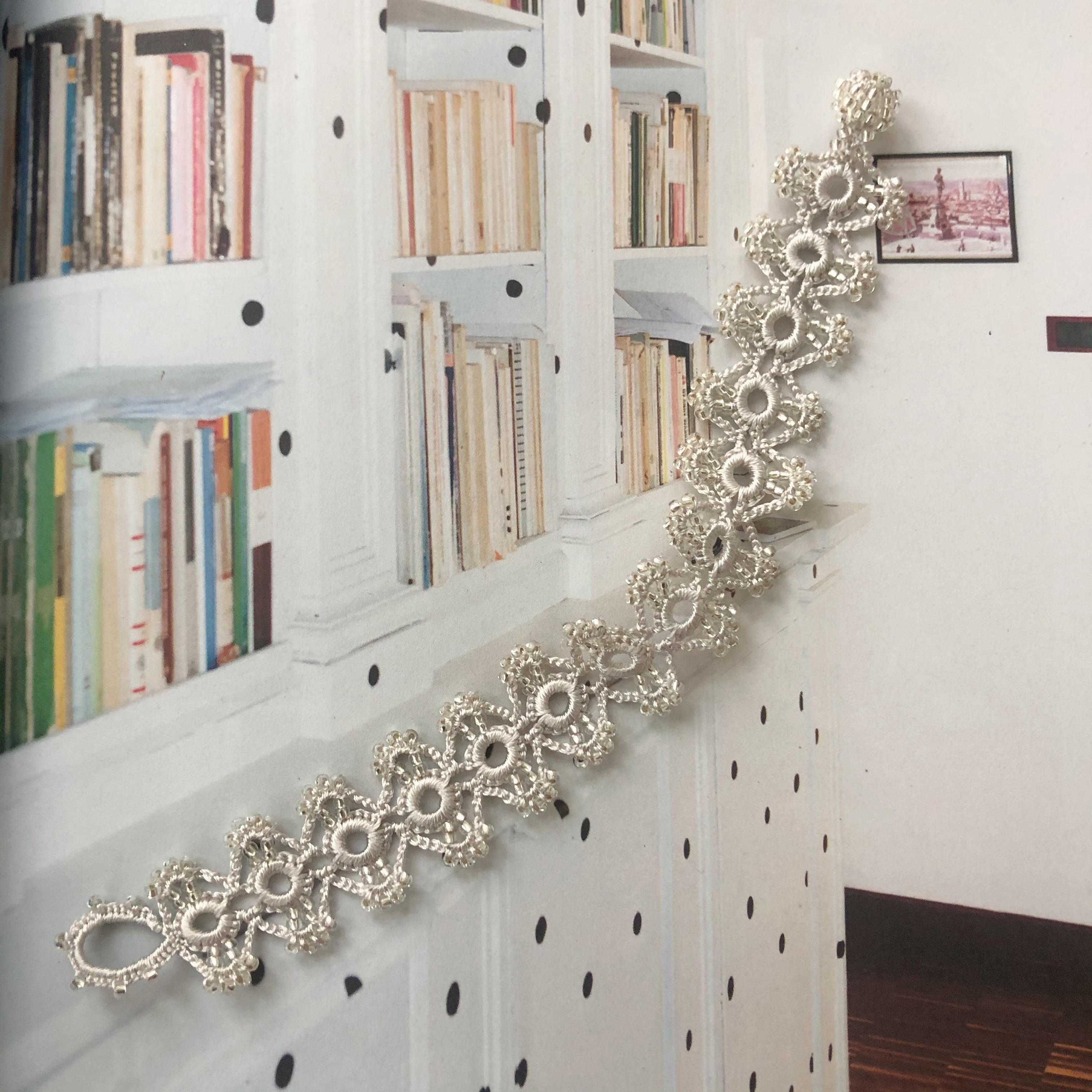Perlearmbånd (Silver)