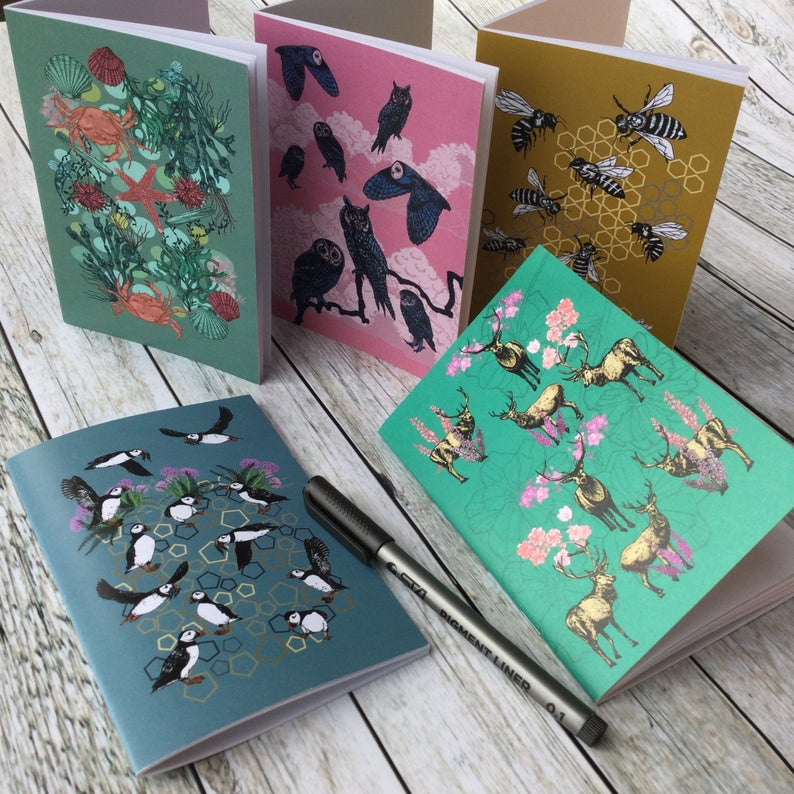 Tammie Norries Set of 5 Pocket Notebooks (A6)