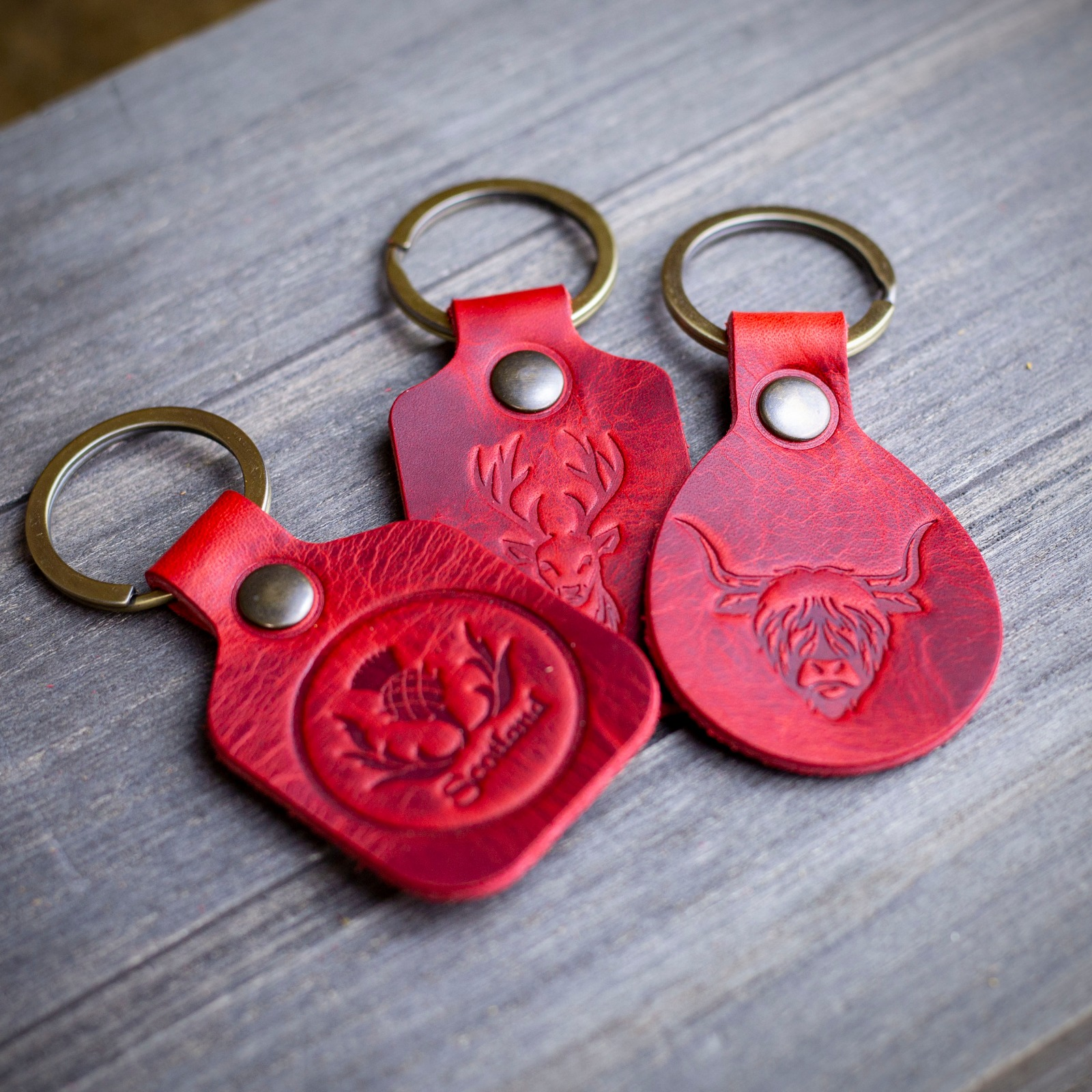 Workshop After Six Highland Stag Key Chain