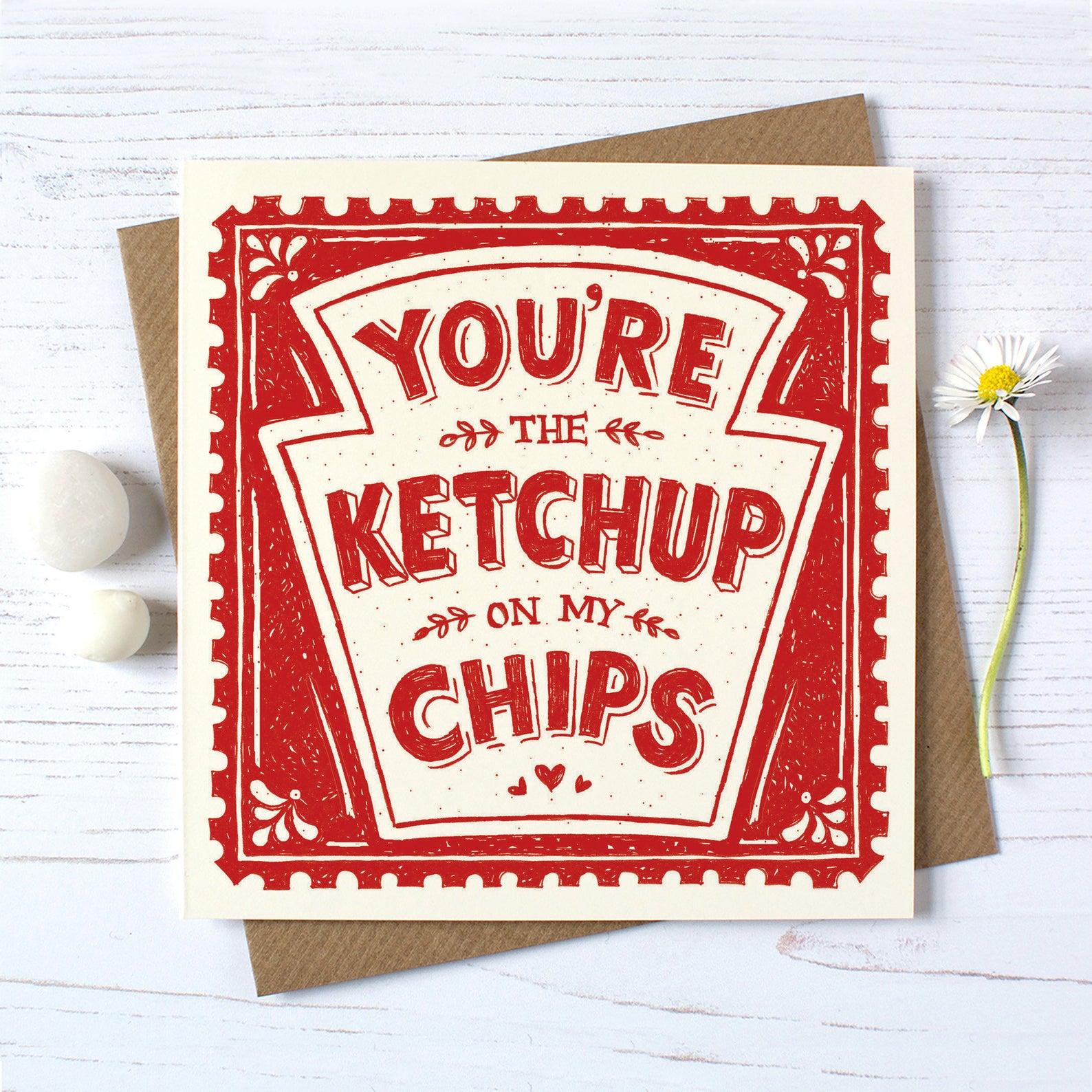 Alexandra Snowdon Ketchup On My Chips Card