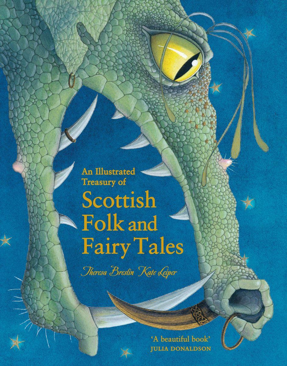 Illustrated Treasury Of Scottish Folk And Fairy Tales (Book)