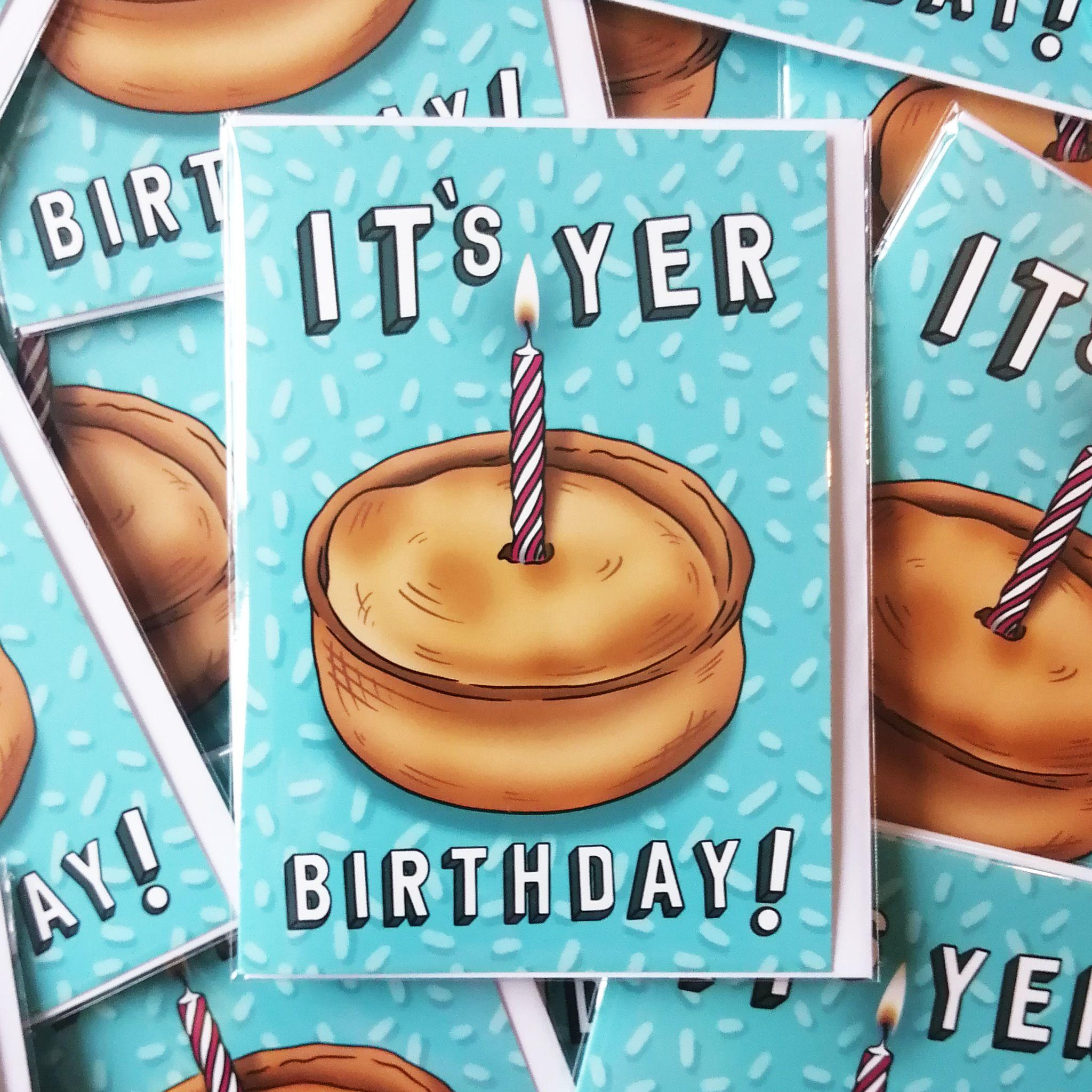 Cheryl Jones Designs It's Yer Birthday! Greeting Card
