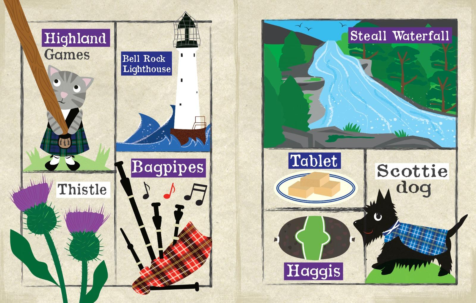 Nursery Times Crinkly Newspaper - Welcome to Scotland