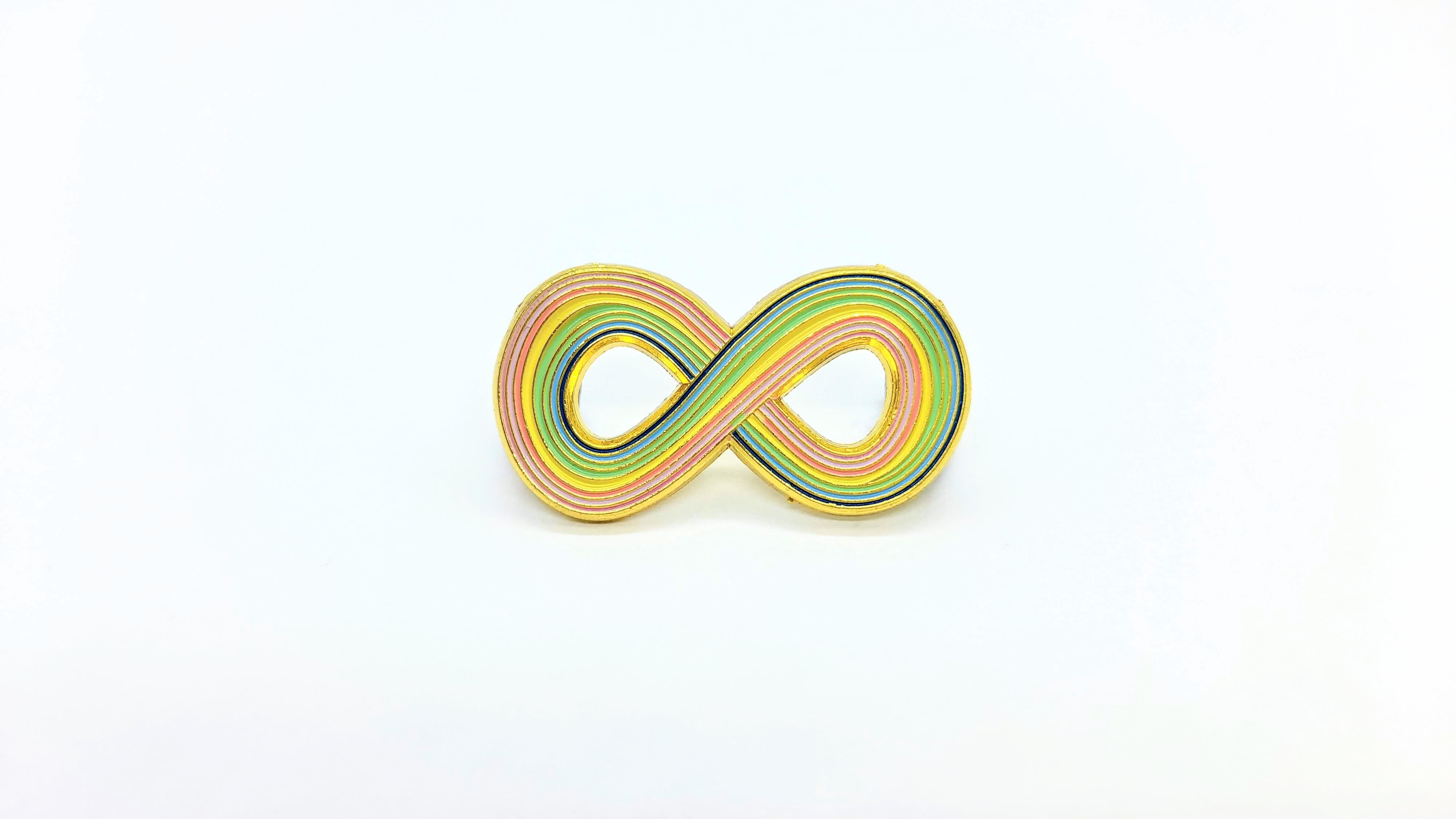 ILovePins Infinity Enamel Pin