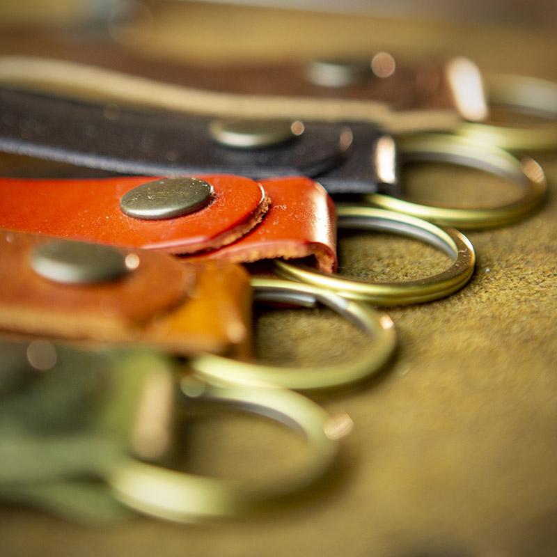 Workshop After Six Belt Key Chain