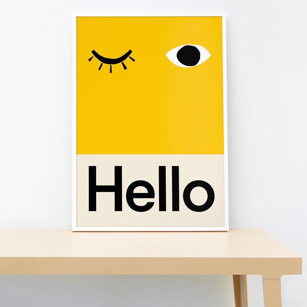 Lorna Freytag Hello Print
