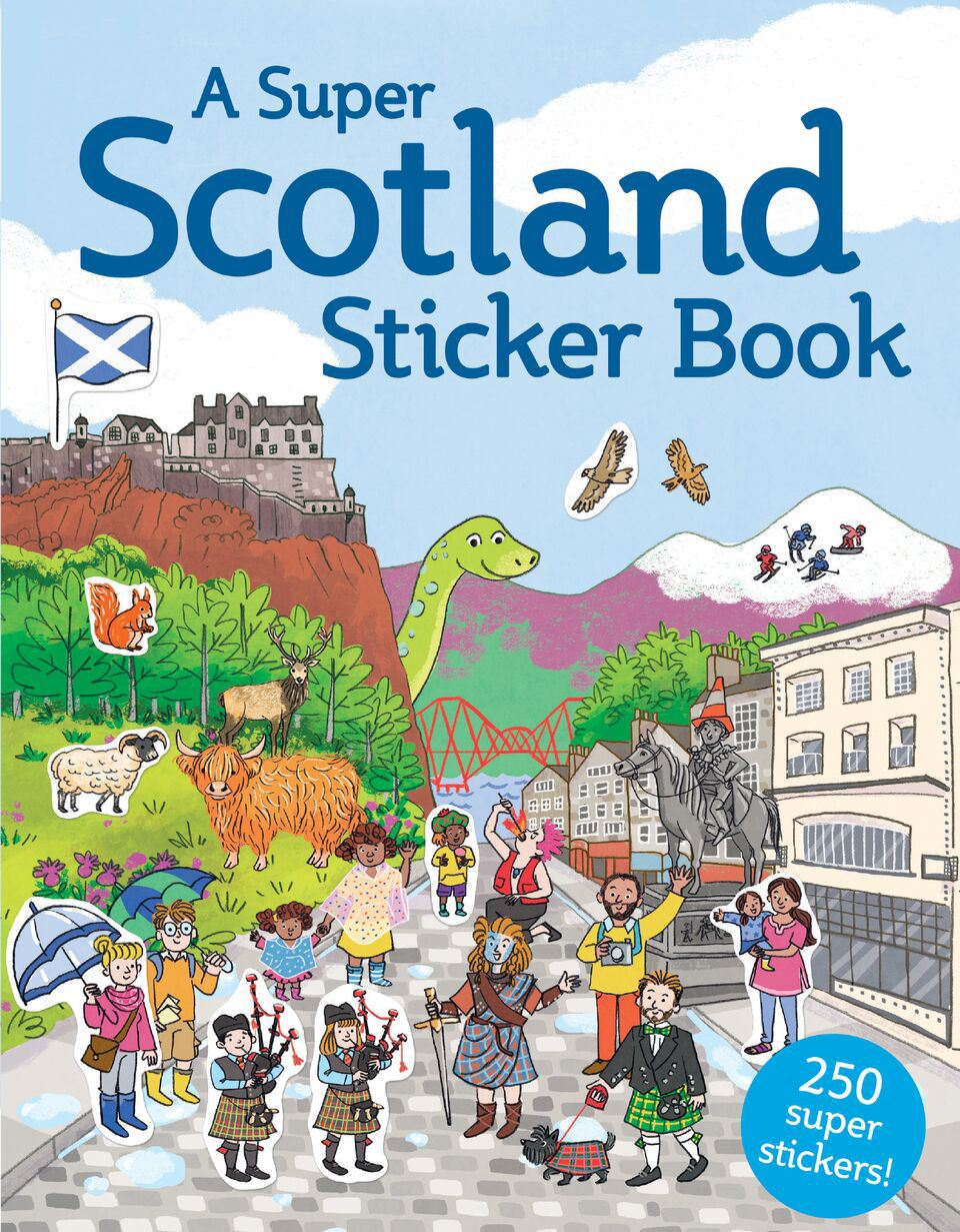 Super Scotland Sticker Book (Children's Sticker Book)