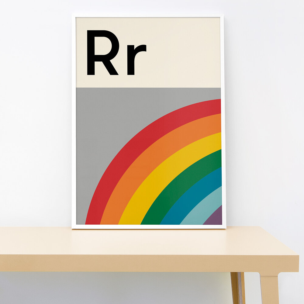 Lorna Freytag Rainbow Print
