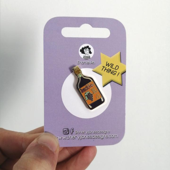 Cheryl Jones Designs Buckie Enamel Pin