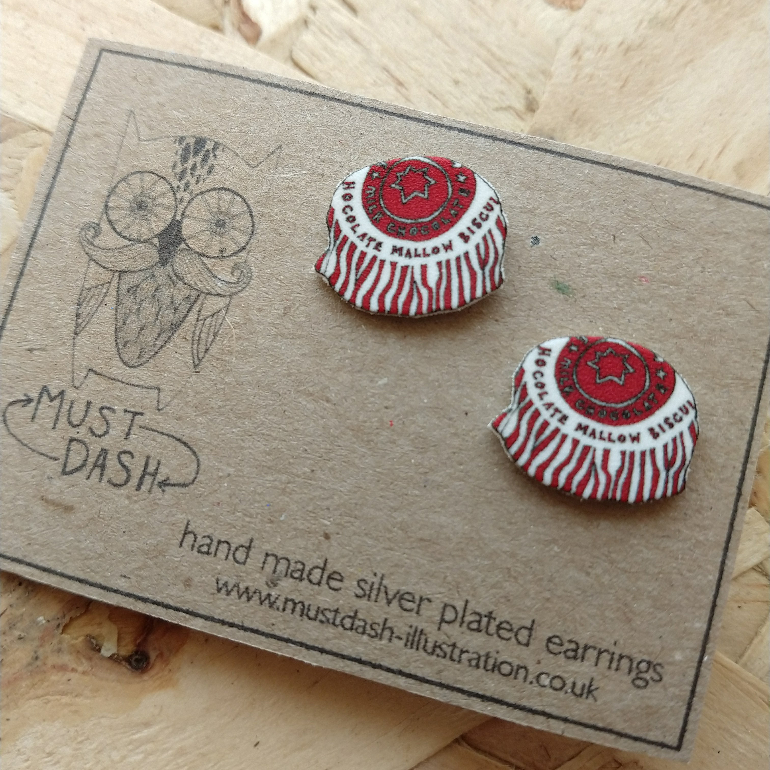 Must Dash Tea Cake Earrings