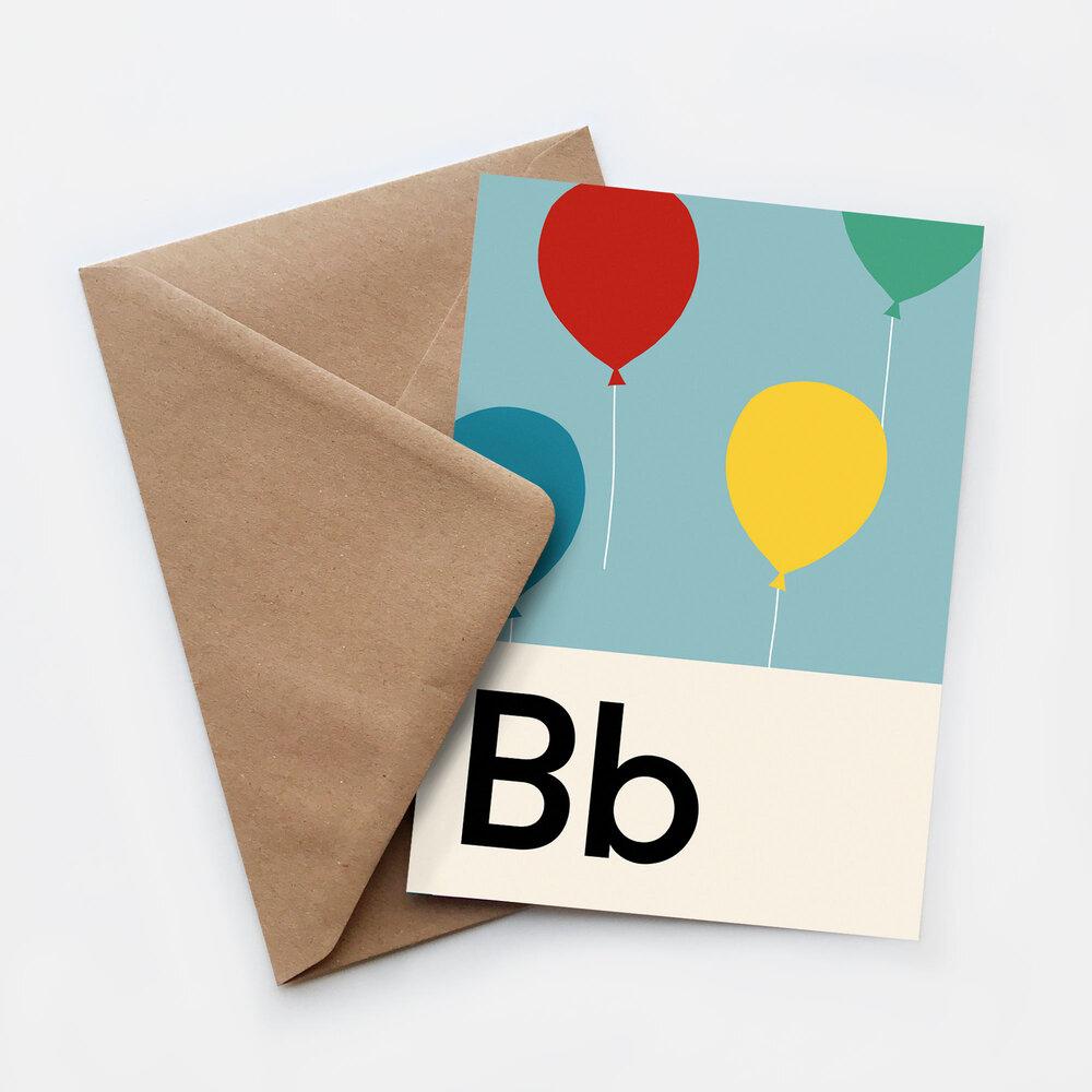 Lorna Freytag Birthday Greeting Card (Blue)
