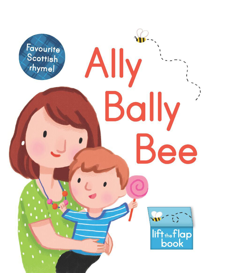 Ally Bally Bee (Children's Lift The Flap Board Book)