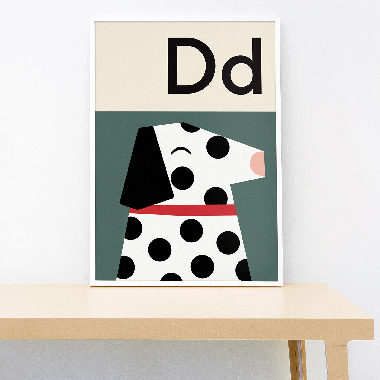 Lorna Freytag Dog A4 Print