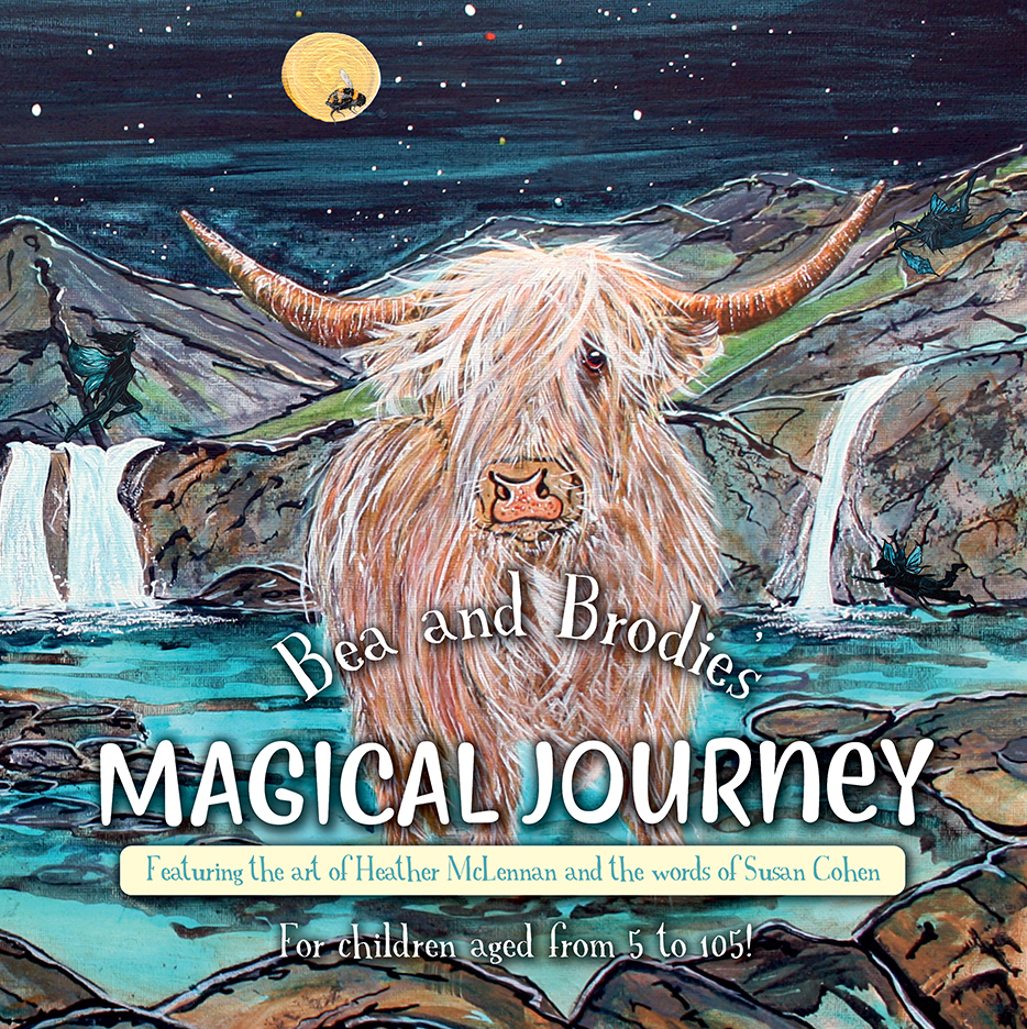 Bea and Brodie's Magical Journey (Children's Book)