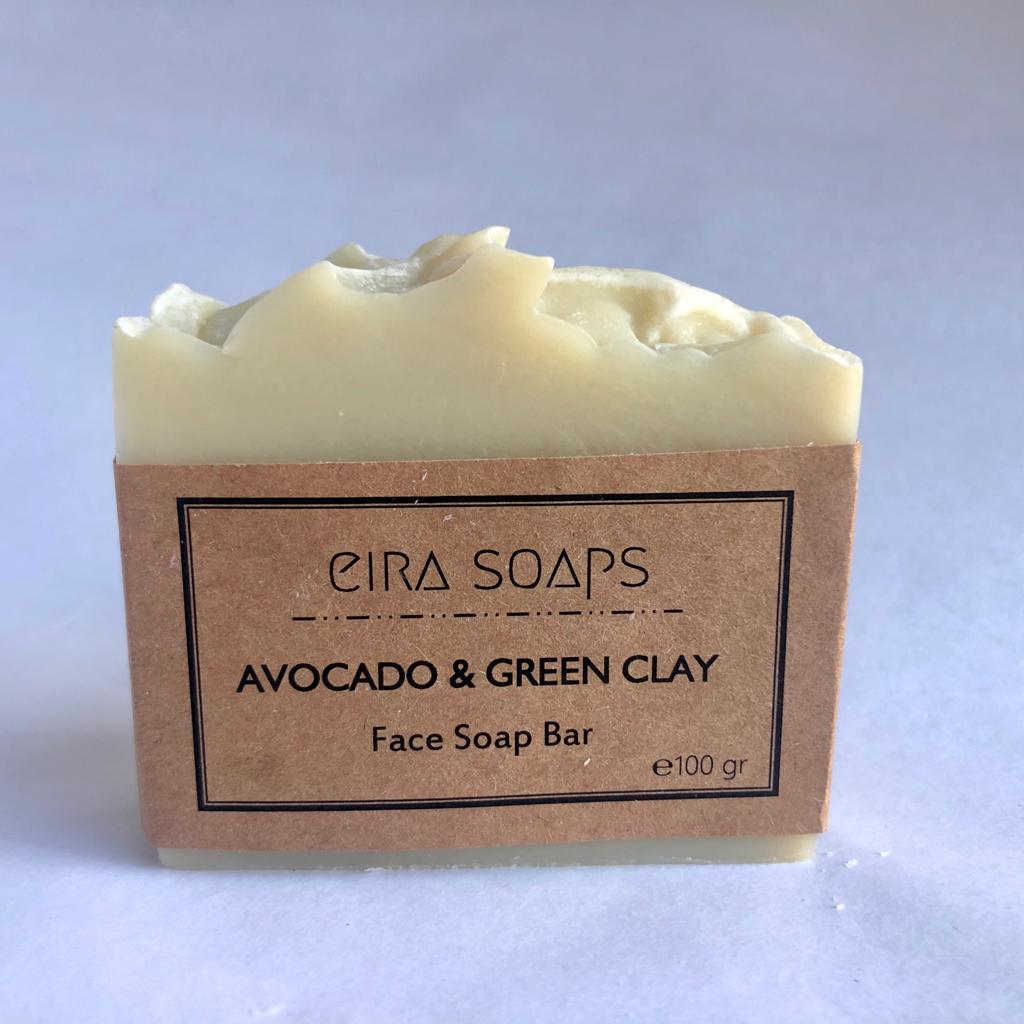 Eira Avocado & Clay Face Soap