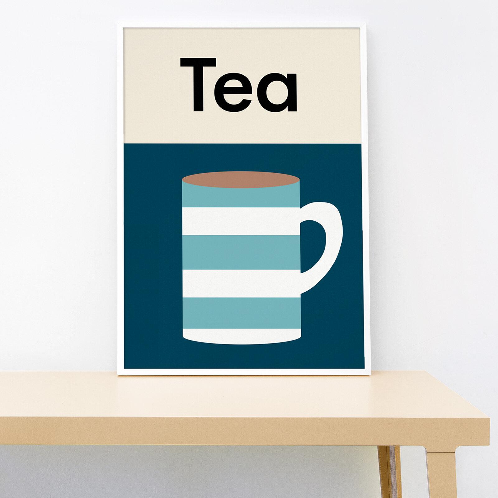 Lorna Freytag Tea A4 Print