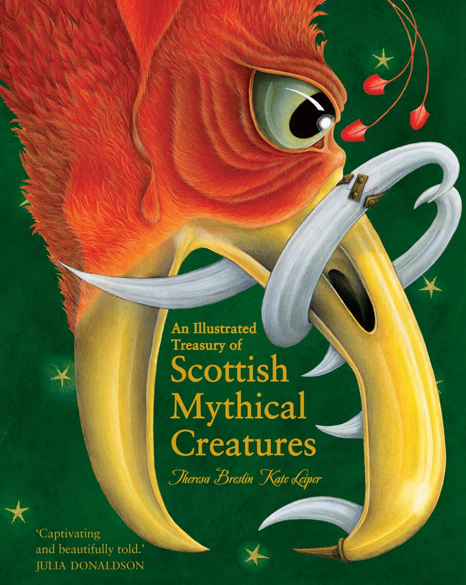 Illustrated Treasury of Scottish Mythical Creatures (Book)