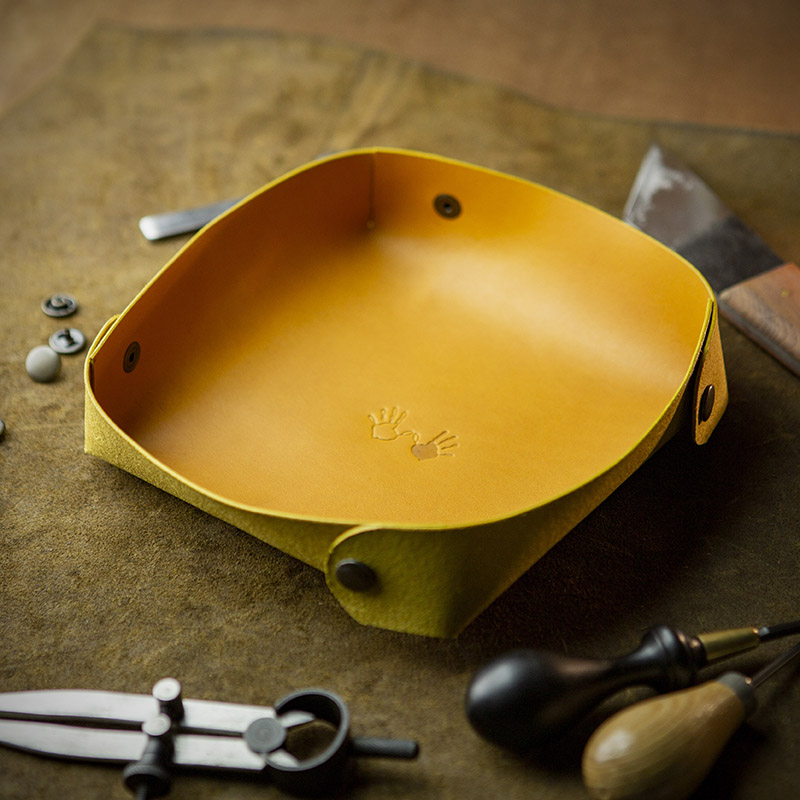 Workshop After Six Leather Tray
