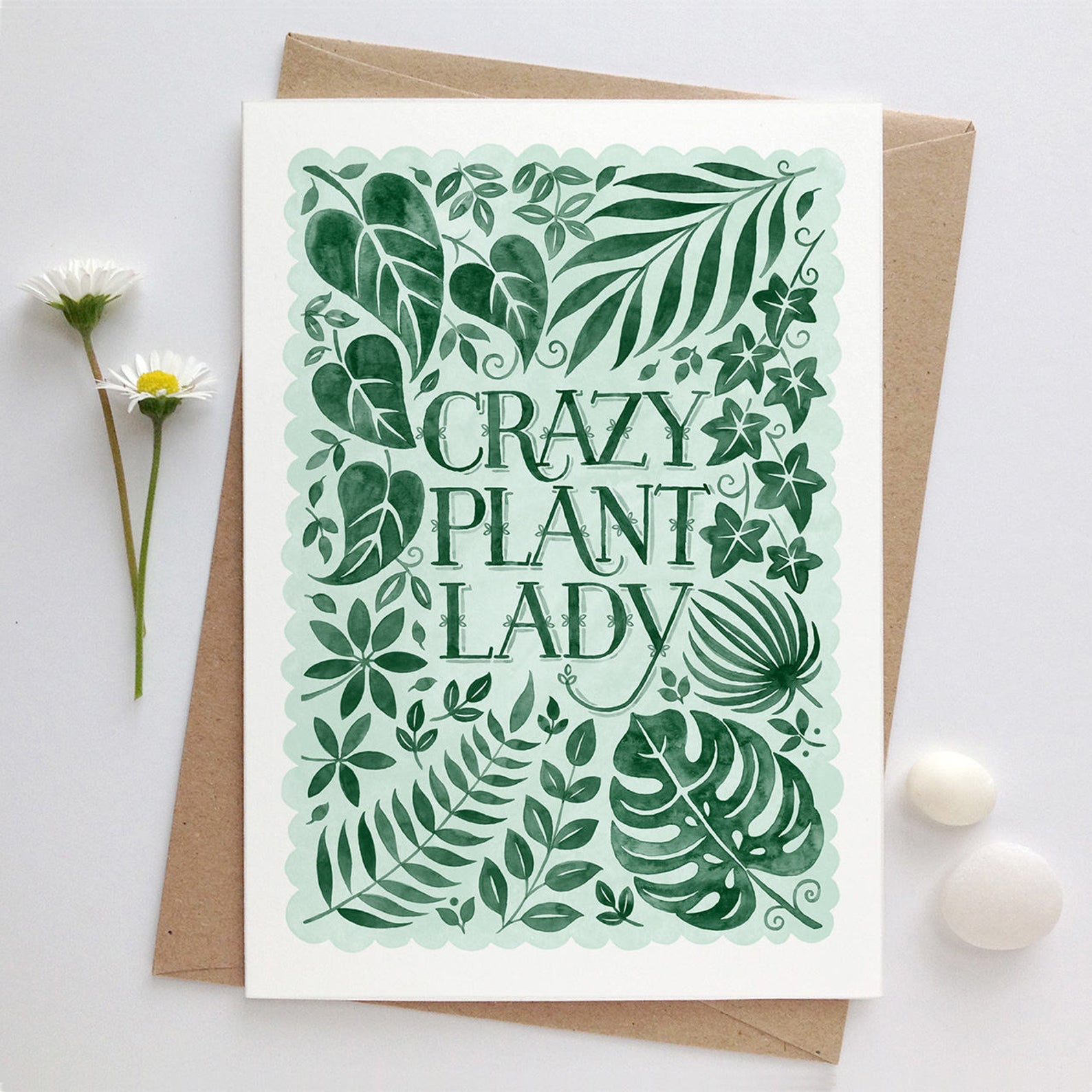 Alexandra Snowdon Crazy Plant Lady Card