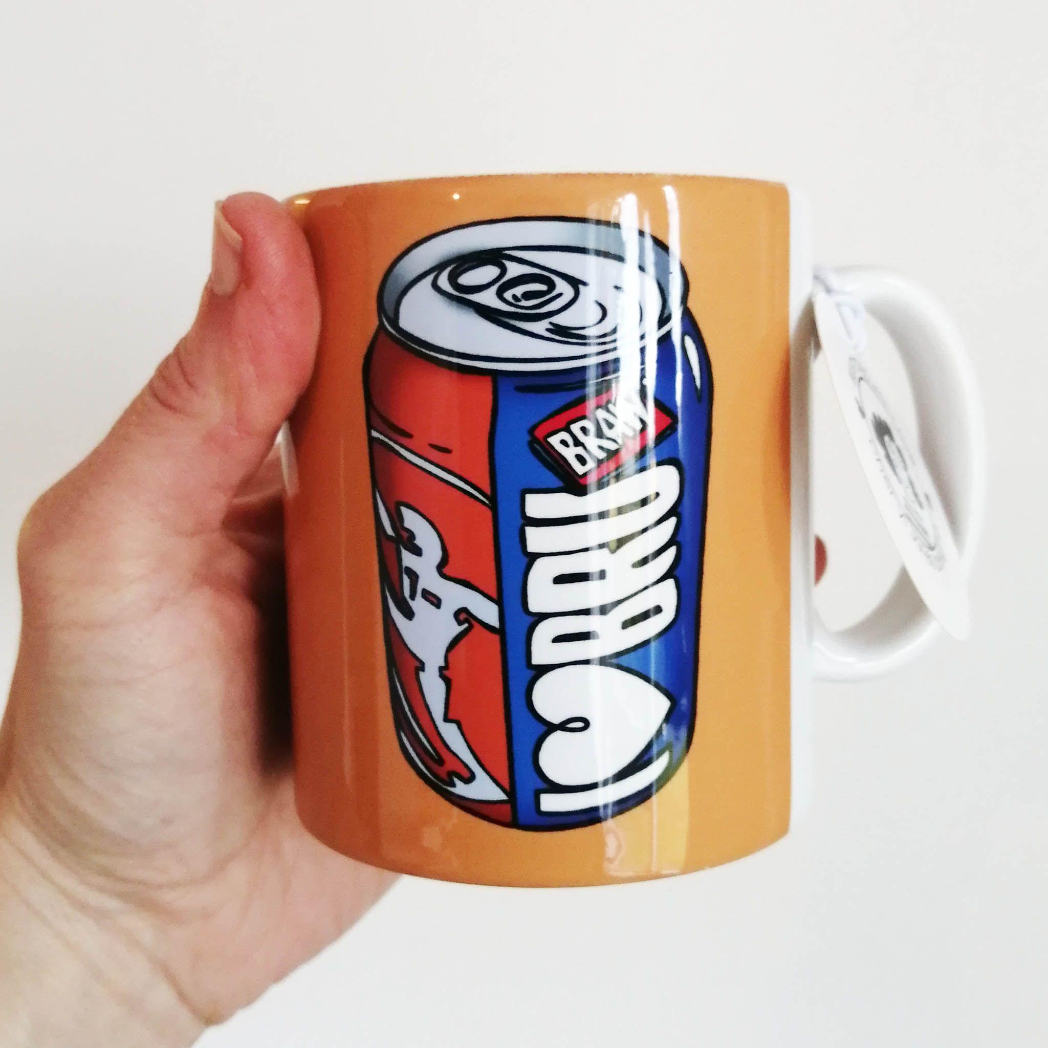 Cheryl Jones Designs I Love Bru Illustrated Mug