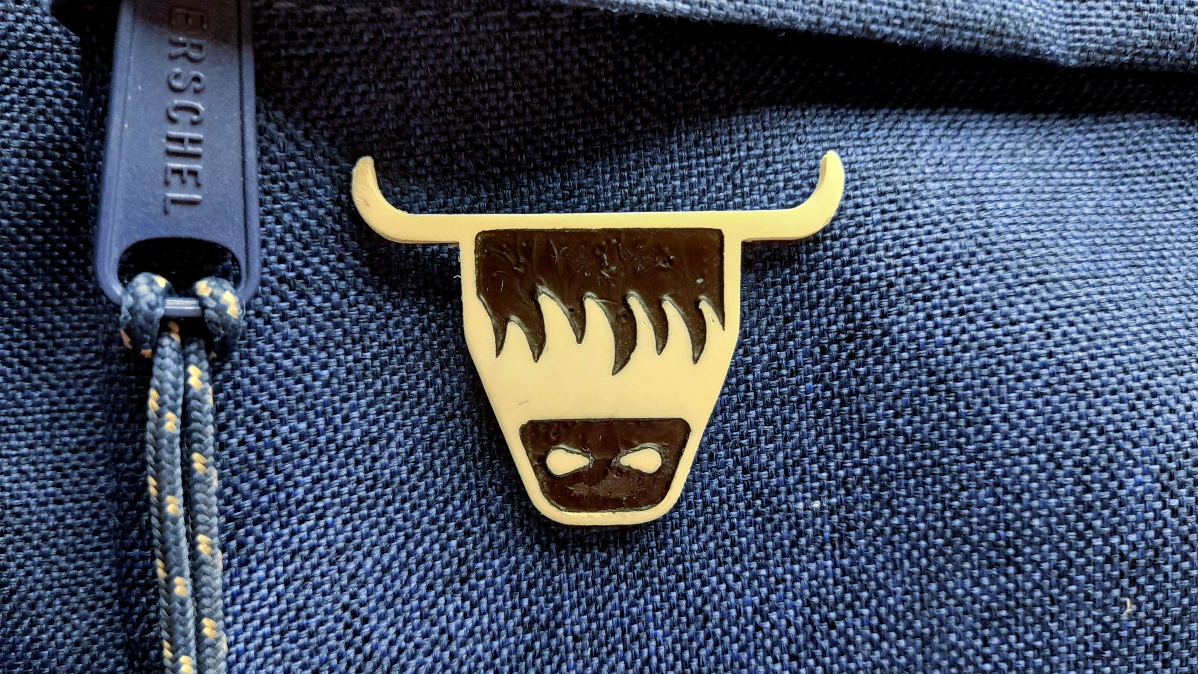 ILovePins Highland Coo 3D Printed Pin