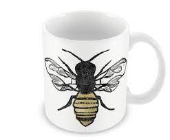 Wraptious Ceramic Mug - Bee