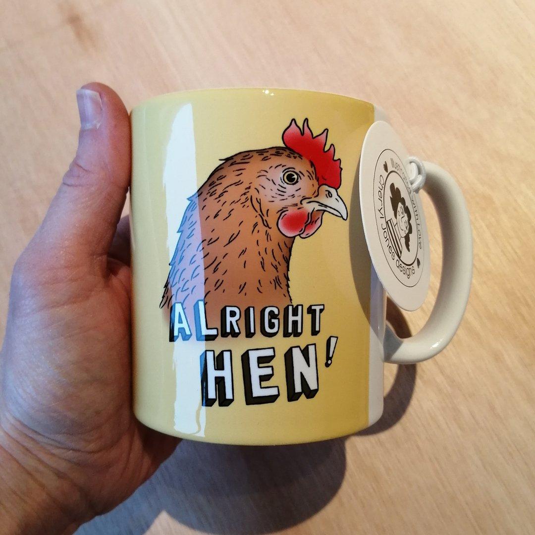 Cheryl Jones Designs Alright Hen Mug