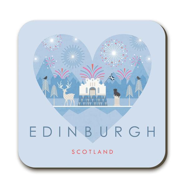 Wraptious Coaster - Edinburgh