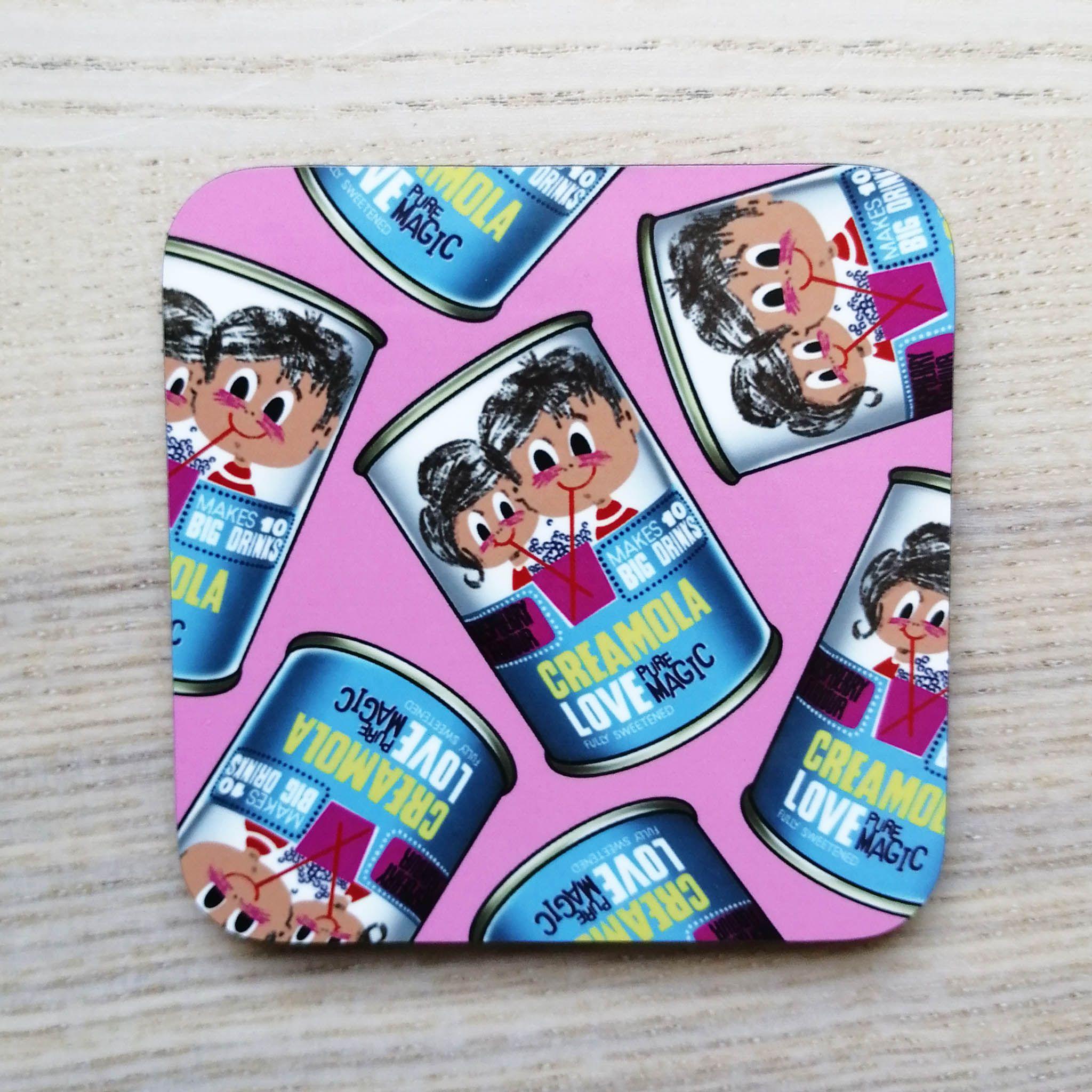 Cheryl Jones Designs Creamola Love Coaster