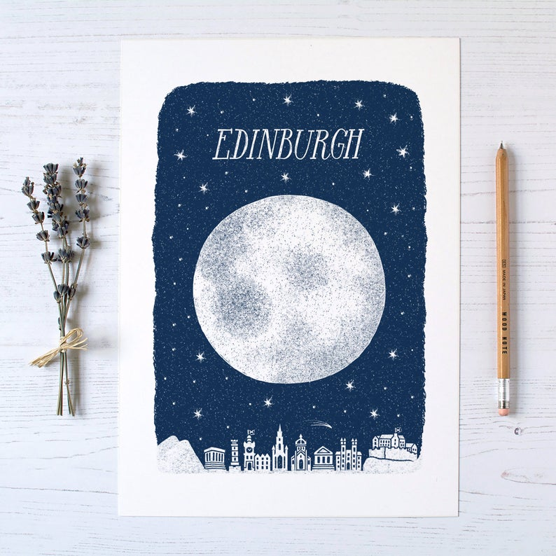 Alexandra Snowdon Edinburgh Print