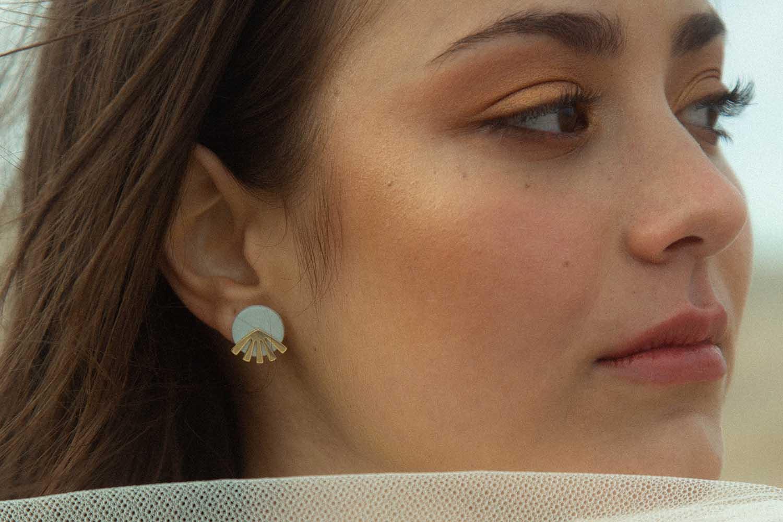 Lia b Anuket Lilac Earrings