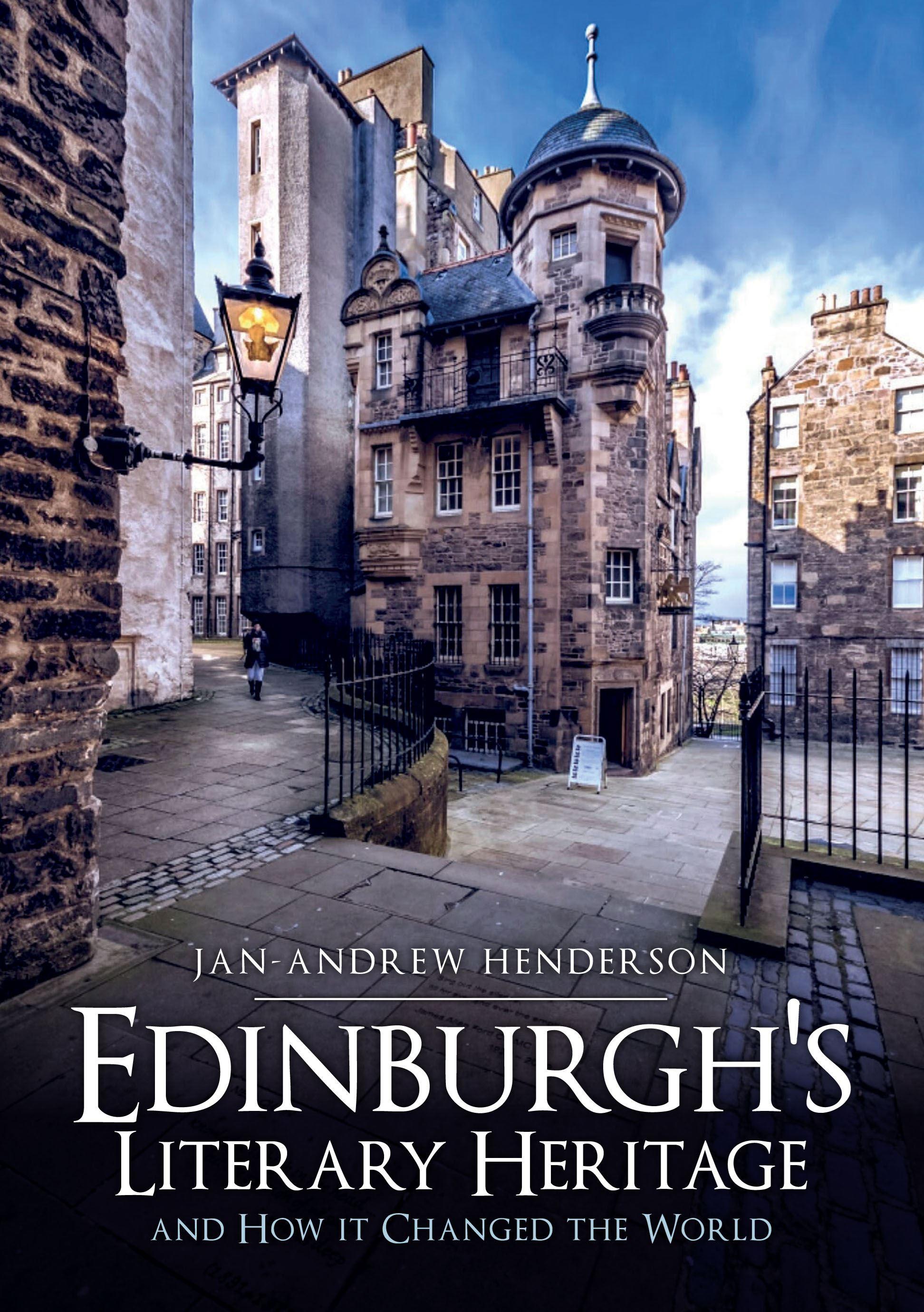Edinburghs Literary Heritage Book